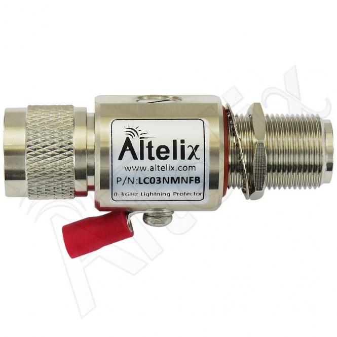 Parafoudre N-Mâle / N-Femelle 0-3 GHz Altelix LC03NMNFB