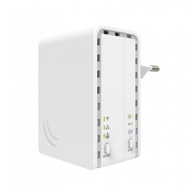 Adaptateur CPL WiFi MikroTik PWR-Line AP PL7411-2nD
