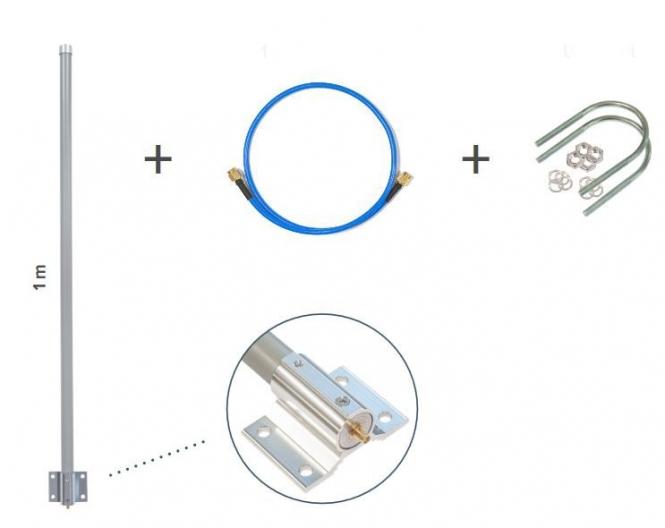 MikroTik LoRa Antenna kit TOF-0809-7V-S1
