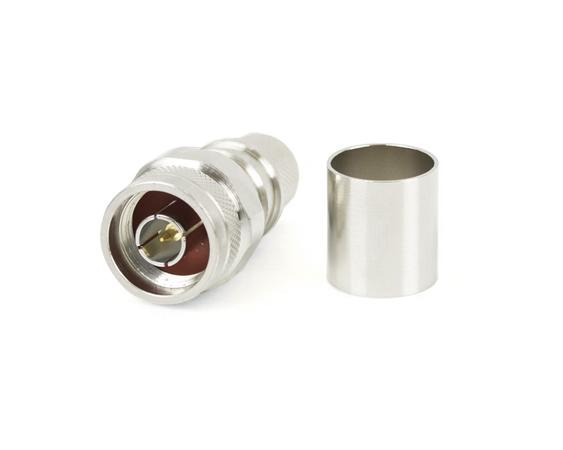 Connecteur à sertir N-Mâle pour CNT-600/LMR-600 avec contact captif