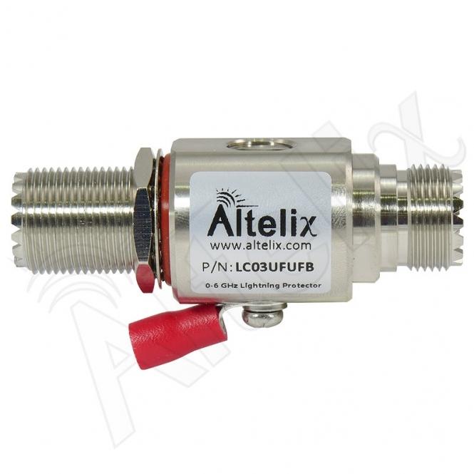 Parafoudre UHF-Femelle / UHF-Femelle 0-3 Ghz 1000 V