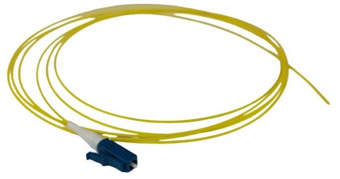 Pigtail fibre monomode G652D à souder LC/UPC simplex 2m