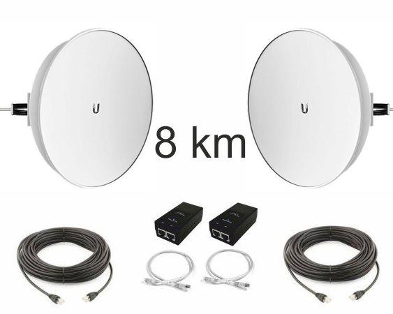 Kit Pont Réseau Très haut débit 5 GHz longue portée jusqu'à 8 km