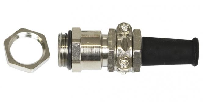 Presse étoupe laiton nickelé IP65 PG7 Lapp 52000990