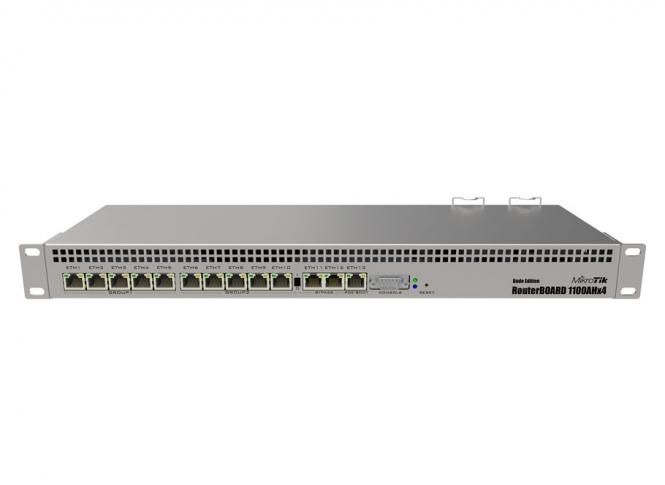 Routeur central MikroTik RB1100AHx4