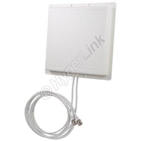 Double Antenne Panneau 2.4 GHz 11 dBi L-Com RE11DS (RP-SMA)