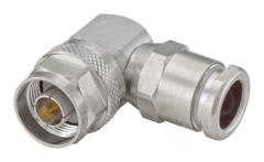 Connecteur à presse-étoupe N-Mâle coudé pour RTK-400/LMR-400 Rosenberger 53S20E-0N9N5