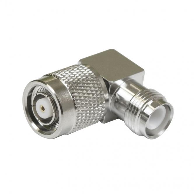 Adaptateur RP-TNC-Jack vers RP-TNC Plug coudé 90°