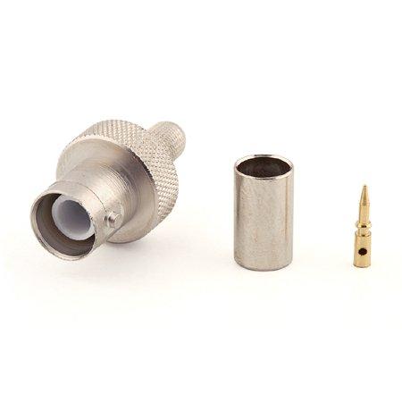 Connecteur à sertir RP-BNC-Femelle (Jack) pour H-155/CNT-240