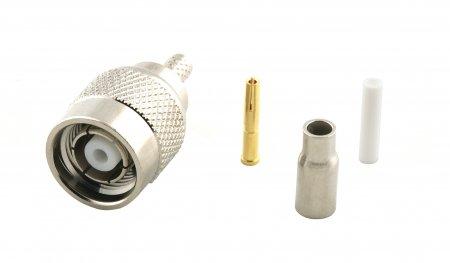 Connecteur à sertir RP-TNC-Plug pour RG-174/RG-316