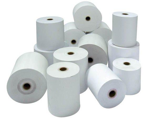 Bobine papier thermique 80 mm x 80 m (lot de 10)