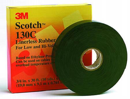 Scotch 3M 130C 19mm x 9.1m - étanchéité à froid