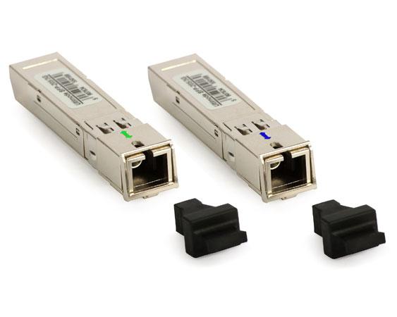 Paire de modules SFP monomode WDM 3km SC simplex