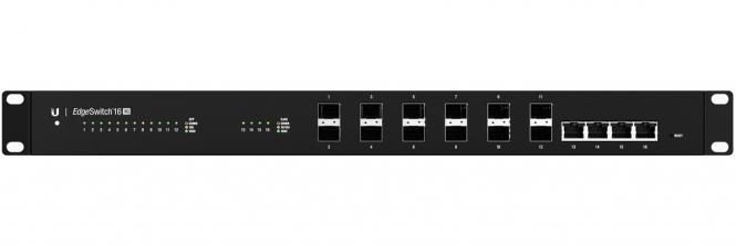 Switch réseau Ubiquiti EdgeSwitch ES-12F 4 ports RJ45 + 12 SFP