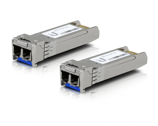 Paire de Modules SFP+ 2xLC singlemode Ubiquiti UF-SM-10G