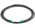 Cordon fibre monomode extérieur SC/APC SC/APC simplex Longueur 5m