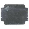 Plaque de fond alu pour boîte Gewiss GW44209 300x220