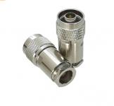 Connecteur à presse-étoupe N-Mâle pour RG-8, CNT-400/LMR-400