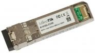 Module SFP+ MikroTik S+85DLC03D multimode 300m avec connecteur LC