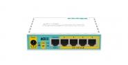 Routeur MikroTik RB750UPr2 hEX PoE lite avec ports PoE passif