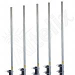 Antenne Omnidirectionnelle 2.4 GHz 15 dBi Altelix AU24G15-HQ (Lot de 5)
