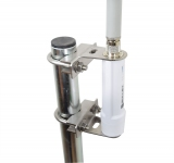 Fixation inox pour Ubiquiti Bullet M2/M5/B-DB-AC sur mât