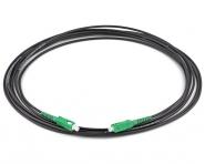 Cordon fibre monomode extérieur SC/APC SC/APC simplex