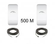 Kit Pont Réseau PoE 5 GHz haut débit jusqu'à 500 mètres