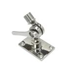 Fixation Inox BRKT-39 pour Antenne Omni Marine Poynting (ajustable sur plan horizontal ou incliné)