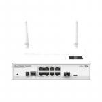 Routeur/Switch réseau/WiFi 2.4 GHz 8 ports 10/100/1000 + 1 port SFP MikroTik CRS109-8G-1S-2HnD-IN
