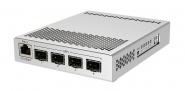 Switch réseau 1 port gigabit Ethernet + 4 ports SFP+ MikroTik CRS305-1G-4S+IN