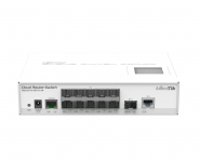 Switch réseau 10x SFP, 1x SFP+, 1x RJ45  MikroTik CRS212-1G-10S-1S+IN (Occasion sans emballage)