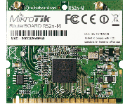 Carte Mini PCI MikroTik R52n-M 802.11a/b/g/n
