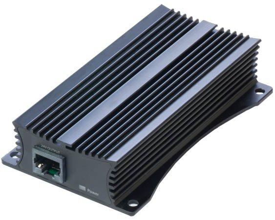 convertisseur poe 802 3af  at en poe passif 24v 1a mikrotik