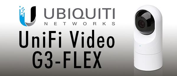 Caméra extérieure infrarouge IP 1080p Ubiquiti UVC-G3-Flex